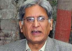 Aitzaz Ahsan denies rumours about leaving PPP