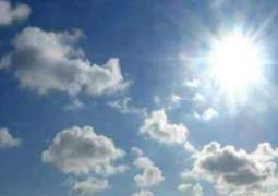 Mainly hot, dry weather likely in most parts, rain-thunderstorm at few places of Kashmir 25 April 2018