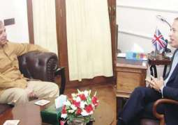 UK High Commissioner, Punjab Chief Minister discuss matters of mutual interest