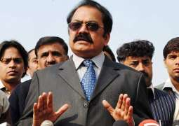 Rana Sanaullah urges Chief Justice of Pakistan to take notice of Imran's 'wicket' statement