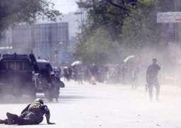 8 journalists, 4 policemen among 25 people killed in twin Kabul blasts