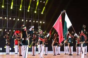Pakistan's band performs at SCO military bands festival in Beijing