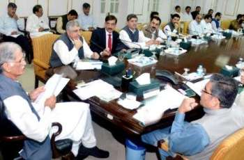 Sports policy approved in KP's 50th cabinet meeting