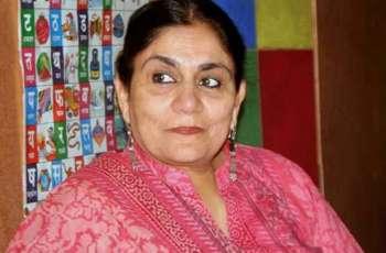 معروف اداکارہ مدیحہ گوہر بدھ کوں فوت تھی گئی
