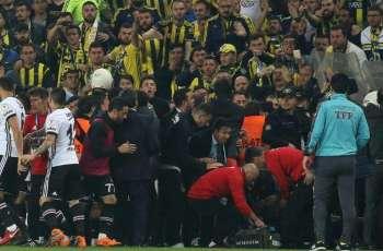 Besiktas refuses to play in Istanbul derby resumption