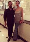 Kareena Kapoor spotted with designer Faraz Manan in Dubai