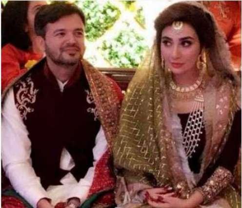 سا بق اداکارہ عائشہ خان دا میجر عقبہ حدید ملک نال ویاہ ہوگیا