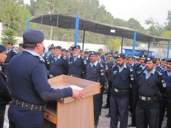Islamabad Police Host Farewell For 59 Retiring Policemen