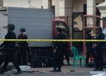 انڈونیشیا پولیس ہیڈ کوارٹر آ جلہو کروک آ 4 بندغ تپاخت