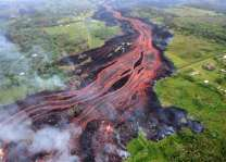 Dangerous 'laze' forms as Hawaii volcano lava reaches ocean