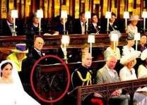 شہزادے ہیری تے امریکی اداکارہ میگھن دا ویاہ: شہزادے ہیری دے نال والی کرسی کس دی سی؟