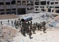 شام، حماتہ دے فوجی اڈے تے دھماکیاں اچ 28 فوجی ہلاک
