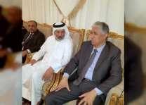 السفير اليمني  يقدم واجب العزاء لأسرة الشهيد سعيد محمد الهاجري