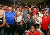 حمدان بن محمد يشهد سباق الجري بدورة ند الشبا الرياضية ويلتقي أبطال الأولمبياد الخاص