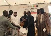 سفارة الدولة في السنغال توزع 10 آلاف سلة غذائية في 5 دول أفريقية