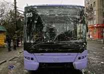 Hand grenade in rucksack kills teenager on east Ukraine bus