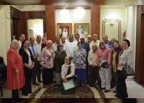 سفارة الدولة في القاهرة تكرم موظفيها القدامى وتمنحهم شققا سكنية احتفاء بعام زايد