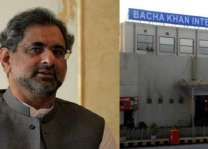 Prime Minister Shahid Khaqan Abbasi inaugurates expansion of Bacha Khan International Airport