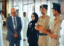 شرطة دبي تشارك في التحدي العالمي لنبض فيرجن