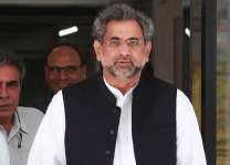 رئيس الوزراء شاهد خاقان عباسي يقوم بافتتاح توسيع مطار