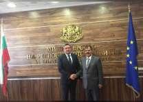 سفير الدولة يلتقي وزير التنمية المحلية البلغاري