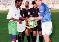 المنتخبان السعودي والروسي لكرة القدم يلتقيان للمرة الثانية منذ 25 عامًا
