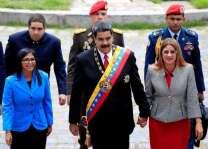 Venezuela's Maduro sworn in for second six-year term