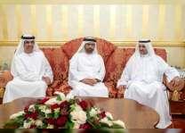 حاكم الفجيرة يواصل استقبال المهنئين بشهر رمضان المبارك