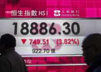 Hong Kong stocks finish week with losses 25 May 2018