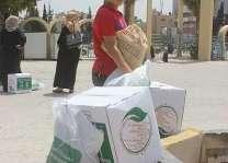 مركز الملك سلمان للإغاثة يواصل لليوم السابع توزيع السلال الرمضانية على الأسر السورية اللاجئة في الأردن