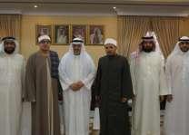وكيل الشؤون الإسلامية يستقبل قراء من جمهورية مصر العربية