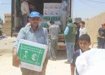مركز الملك سلمان للإغاثة يواصل لليوم التاسع توزيع السلال الرمضانية للاجئين السوريين في الأردن