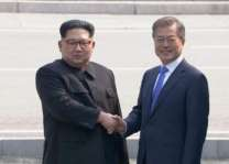 S. Korea says Moon met N. Korea's Kim in DMZ