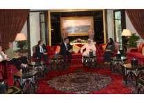 وزير الصناعة والتجارة والسياحة يجتمع بوفد الكونجرس الأمريكي الذي يزور مملكة البحرين