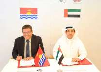 الإمارات توقع اتفاقية خدمات جوية مع كيريباتي