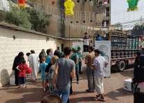 مركز الملك سلمان للإغاثة يوزع السلال الرمضانية للاجئين السوريين في منطقتي عكار والناعمة في لبنان