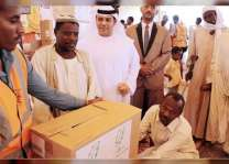 سفير الدولة لدى السودان يشارك في تدشين مشاريع رمضان