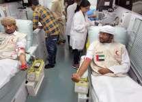 """""""الهلال الأحمر""""يشارك في حملة تبرع بالدم خلال رمضان"""