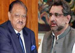 President Mamnoon Hussain, Prime Minister Shahid Khaqan Abbasi  pay tribute to workers