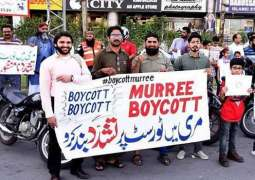 'Boycott Murree' trends on social media following violent videos targeting tourists