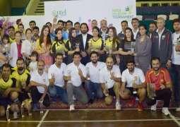 PTCL organizes Inter-Telecom Table Tennis and Badminton League