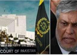 Supreme Court suspends Ishaq Dar's Senatorship