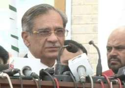 Chief Justice of Pakistan Justice Saqib Nisar directs federal cabinet to decide Asghar Khan case follow-up in a week