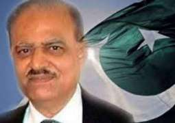 President Mamnoon Hussai calls for availability of air ambulance service for all citizens