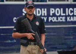 Counter-Terrorism Department (CTD) in action after threats to elected representatives in Sindh