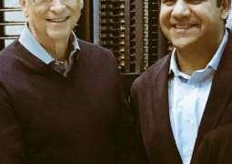 PITB Chairman Dr Umar Saif calls on Bill Gates