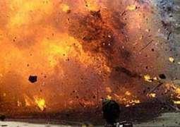 Policeman martyred, 13 injured as Police van targeted in Bannu