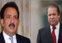 Rdhman Malik demands Nawaz Sharif to withdraw his statement