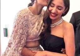 Sonam Kapoor, Mahira Khan share love at Cannes