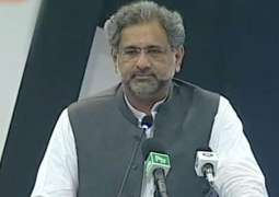 National security shouldn't be put at stake for political point-scoring, urges Prime Minister Shahid Khaqan Abbasi,